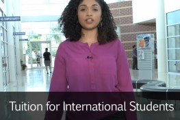 Tuition for International Students